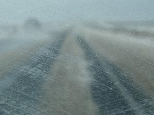 vegas cedar city road snow