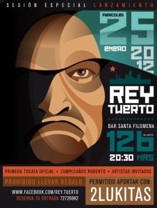 Rey Tuerto en Vivo - Rock Alternativo Chileno